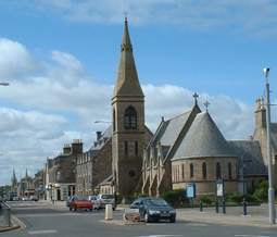 Cluiny Square in Buckie