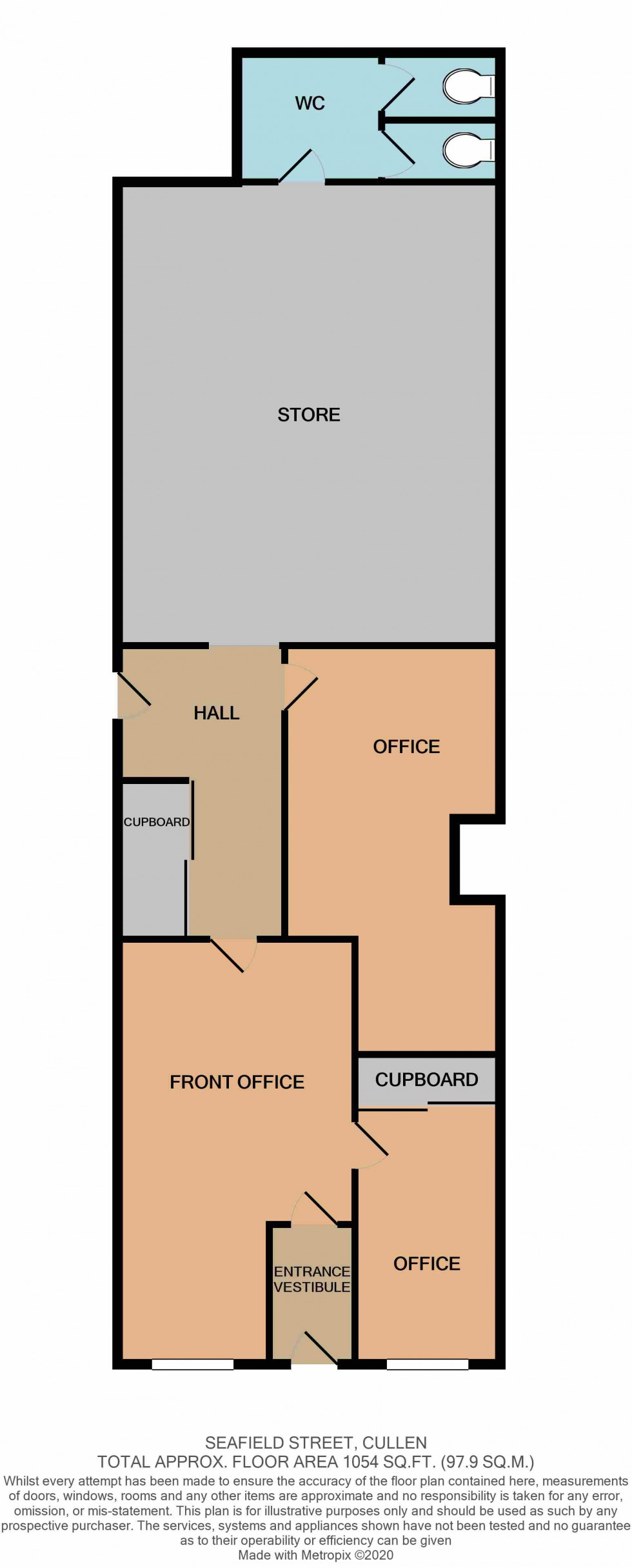 Floorplan for Cullen, Buckie, Moray